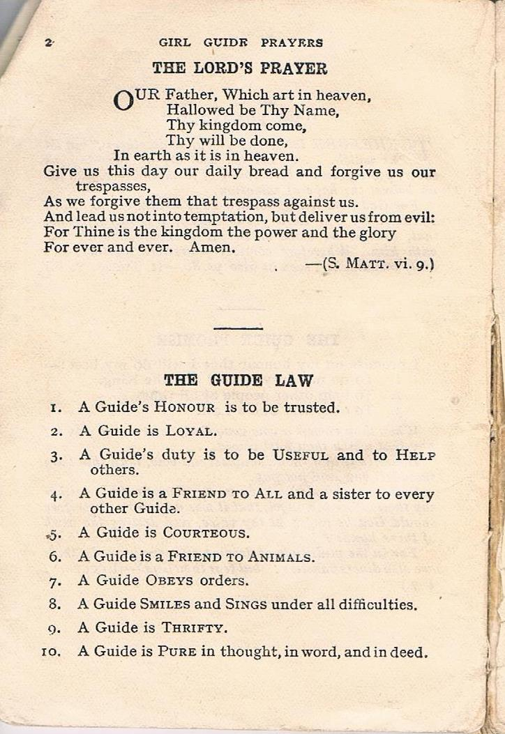 1926 Guide Law
